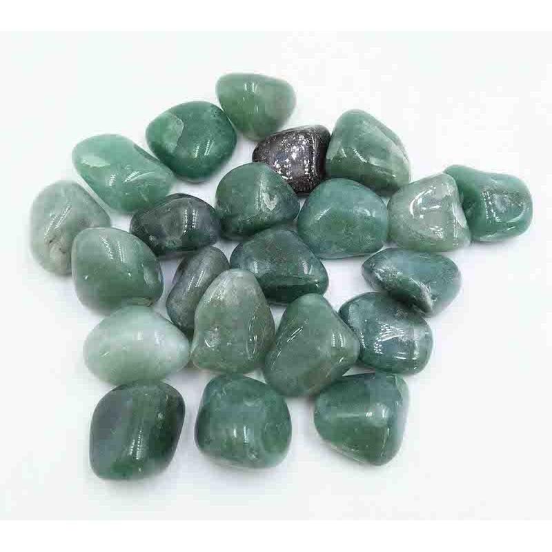 Aventurine vert pierre roulée
