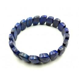 Bracelet lapis-lazuli pierres facettée
