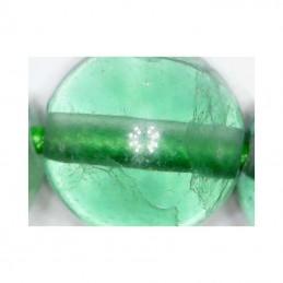 Bracelet tibétain pierre Fluorine 8 mm