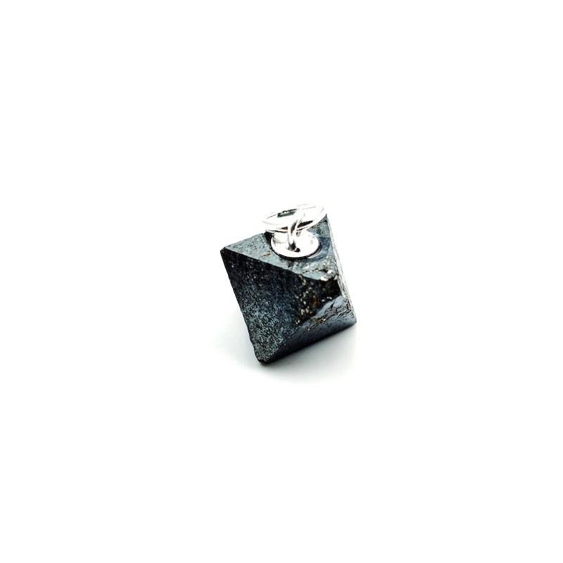 Pendentif Magnétite Octaèdre brute